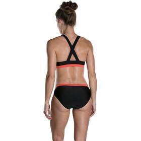 speedo HydrActive - Bañadores Mujer - naranja/negro